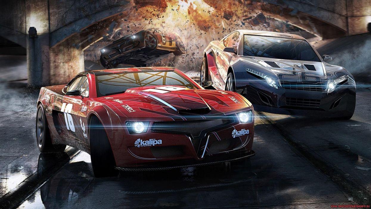 video juego coches carreras emocion wallpaper