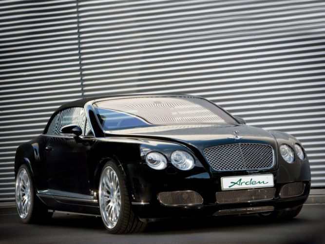 Arden Bentley Continental GTC cars modified 2009 wallpaper