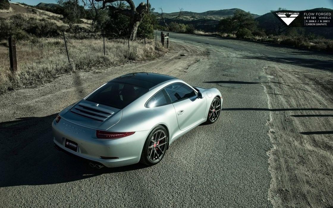 2015 Vorsteiner Porsche 911 Carrera S wallpaper
