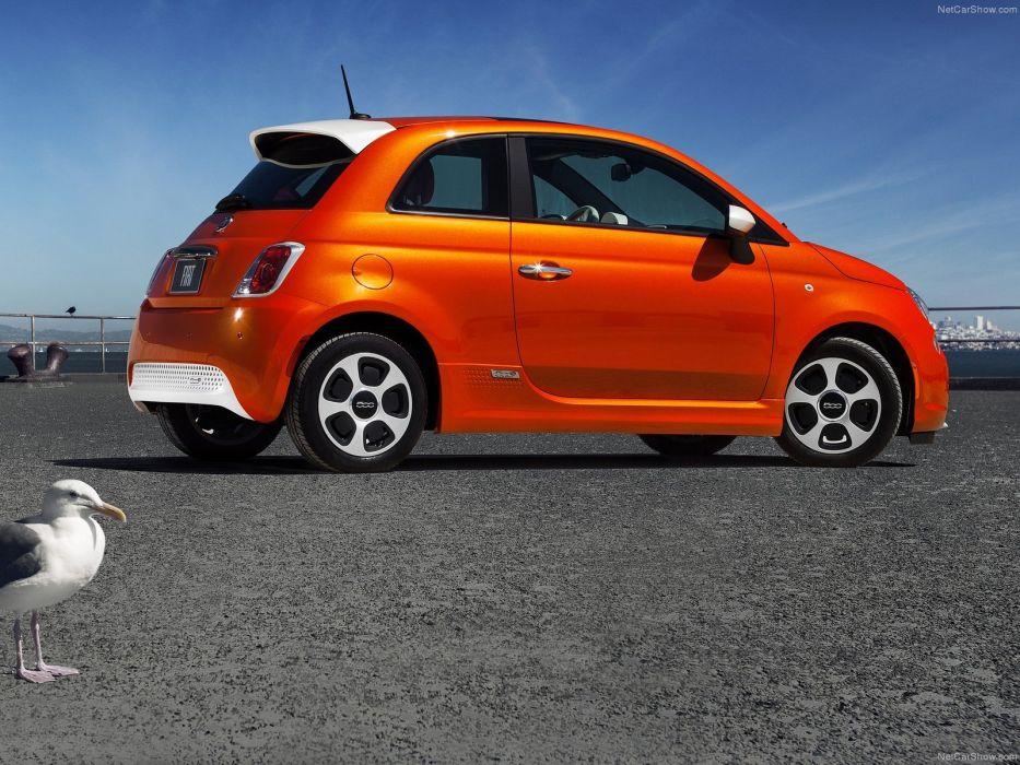 2014 500e Fiat wallpaper