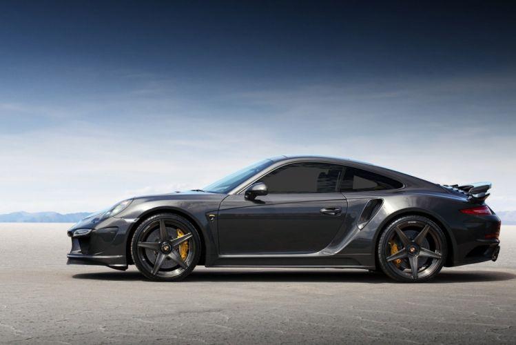 TopCar Porsche 911 Turbo Stinger GTR Carbon Edition cars modified (991) 2015 wallpaper