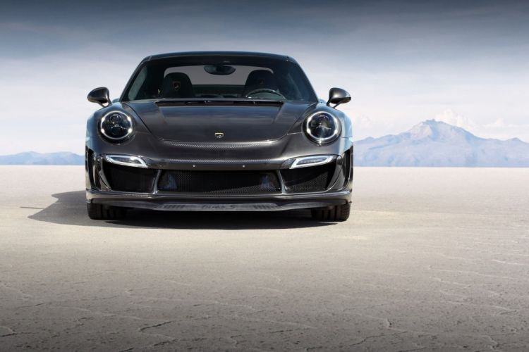 TopCar Porsche 911 Turbo Stinger GTR Carbon Edition cars modified (991) 2015 wallpaper