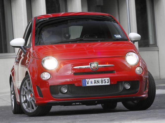 Abarth 500 fiat cars esseesse AU-spec 2011 wallpaper