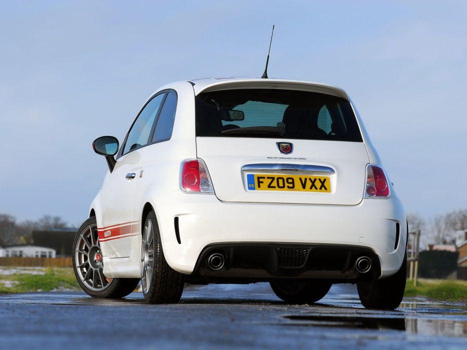 Abarth 500 fiat cars esseesse UK-spec 2011 wallpaper
