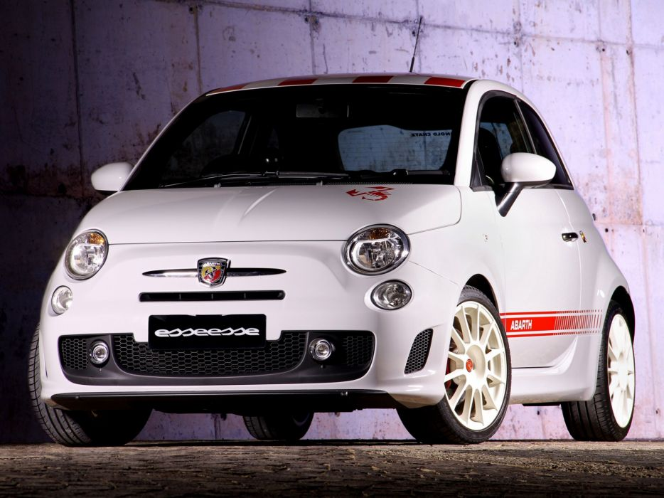 Abarth 500 fiat cars esseesse ZA-spec 2011 wallpaper
