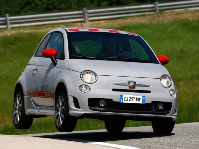 Abarth 500 fiat Opening Edition 2008 wallpaper