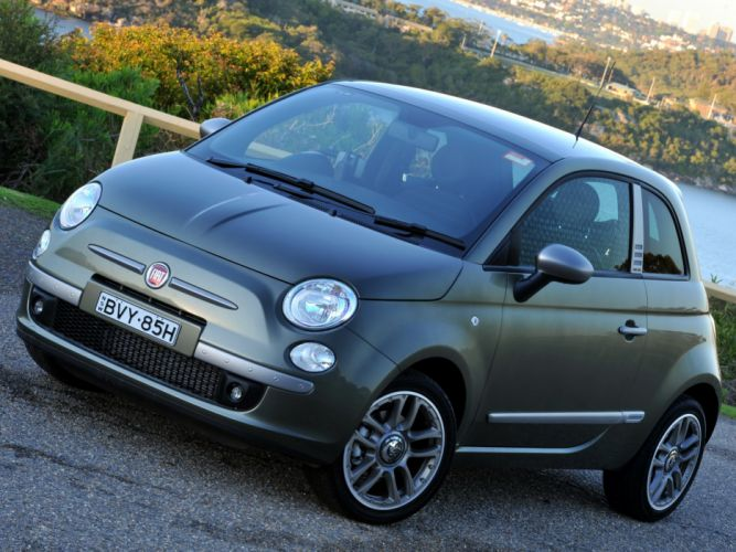 "Fiat 500 ""by DIESEL"" ' 2008 cars wallpaper"