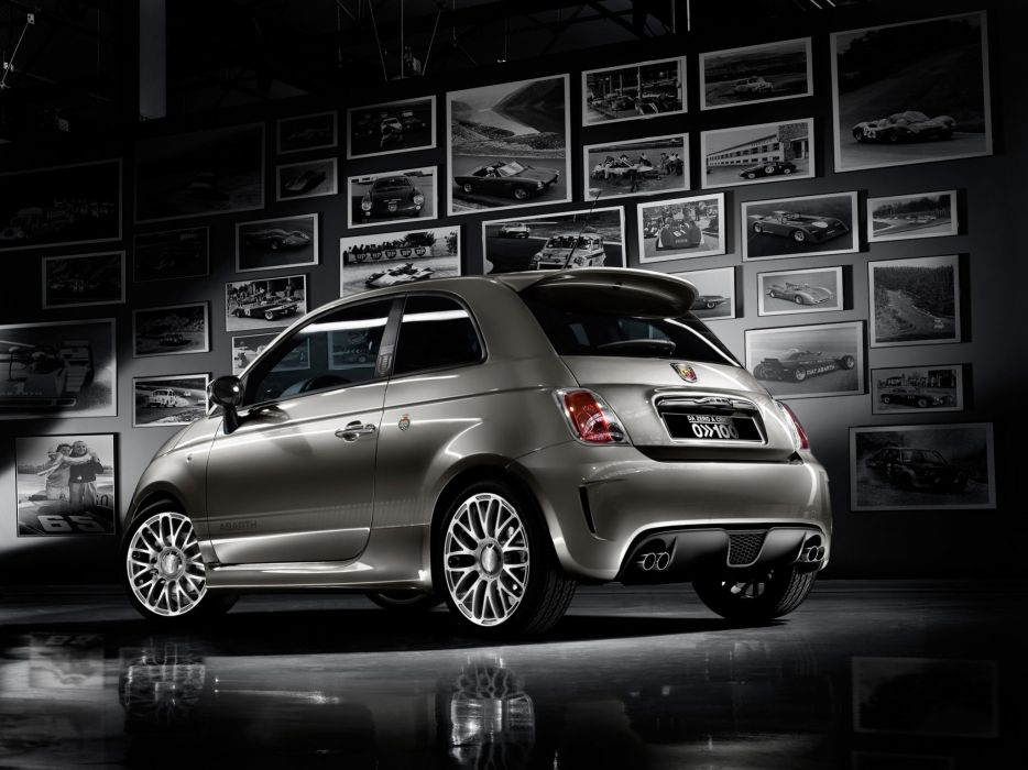 "Fiat 500 ""Da Zero A Cento"" ' 2009 cars wallpaper"