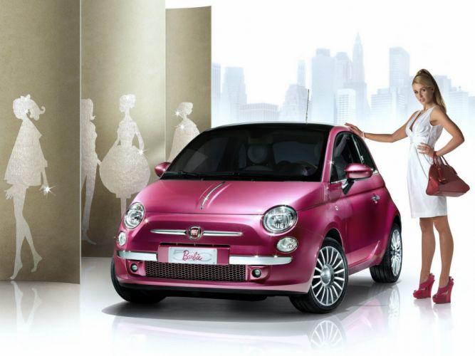 Fiat 500 Barbie Concept 2009 cars wallpaper
