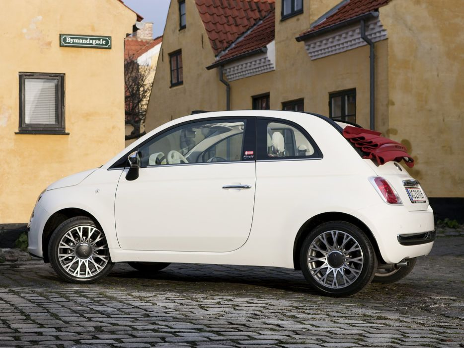 Fiat 500c Danmark Opening Edition 2009 cars wallpaper