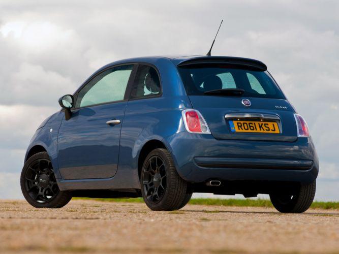 fiat 500 TwinAir Plus UK-spec 2011 cars wallpaper