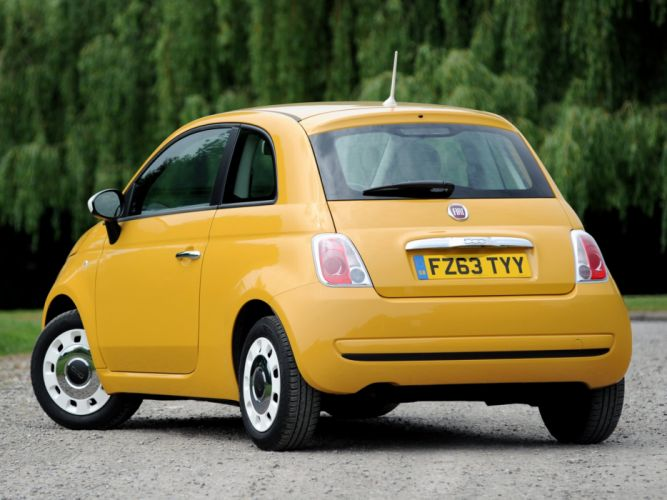 fiat 500 Colour Therapy UK-spec 2012 cars wallpaper