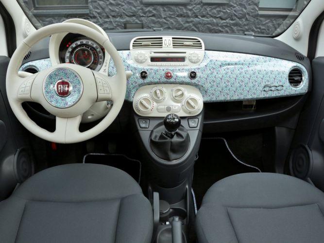 fiat 500 Liberty Art Fabrics 2012 cars wallpaper