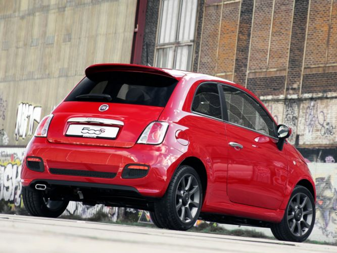 fiat 500s by Abarth 2013 cars wallpaper