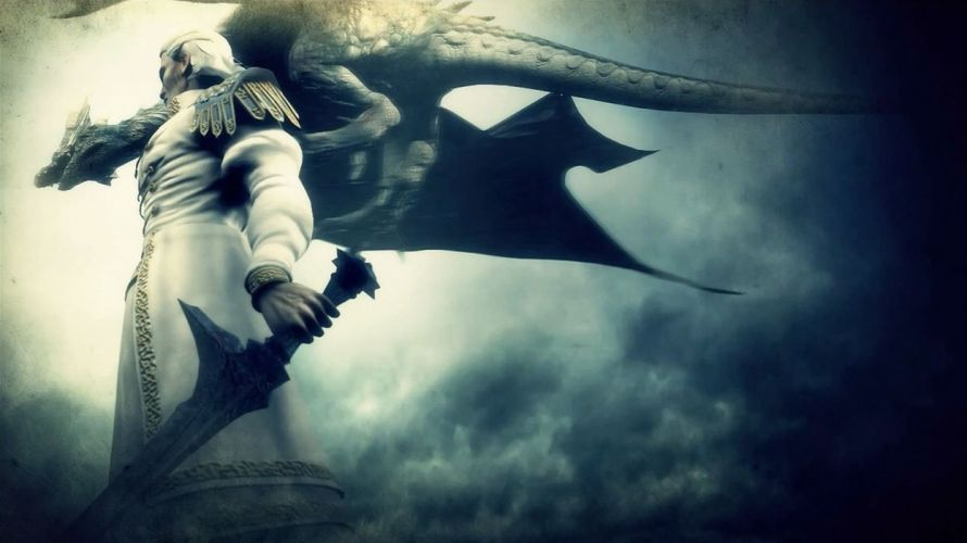 DEMONS SOULS Demonzu Souru fantasy action rpg dark action fighting demon artwork 1dsouls demonssouls evil magic warrior knight wallpaper