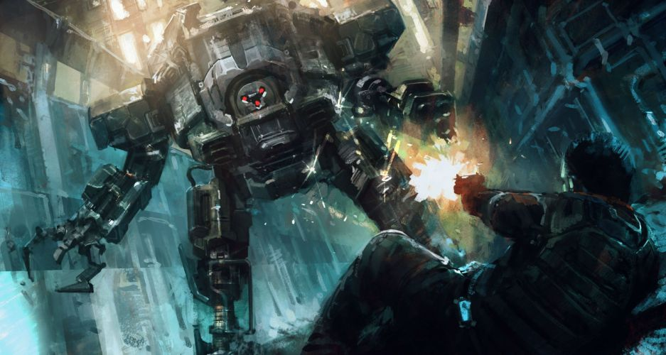 OUTRISE sci-fi shooter action sci-fi futuristic mecha artwork 1orise tactical strategy warrior wallpaper