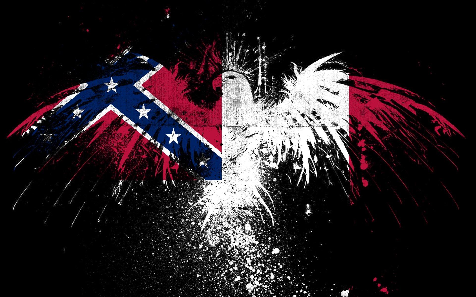 CONFEDERATE Flag Usa America United States Csa Civil War Rebel Dixie Military Poster Wallpaper