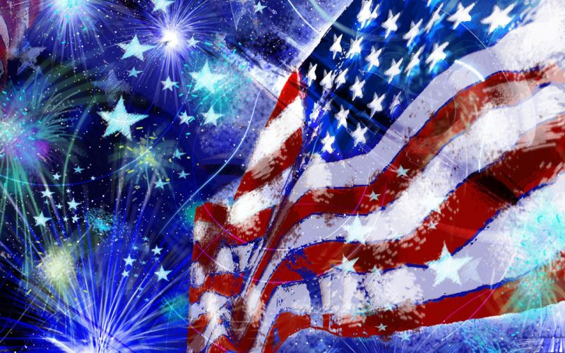4TH JULY Independence Day usa america holiday 1ijuly united states flag poster g wallpaper