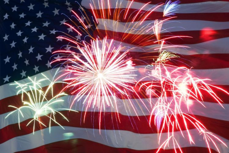 4TH JULY Independence Day usa america holiday 1ijuly united states flag poster fireworks g wallpaper