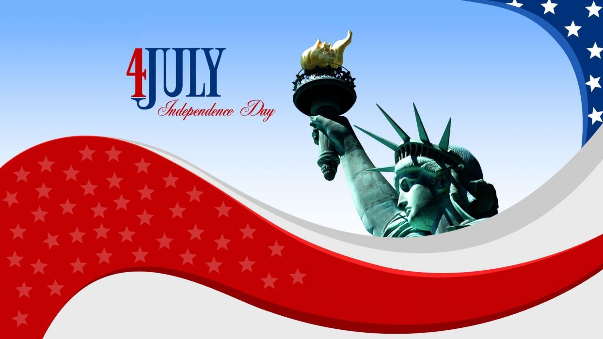 4TH JULY Independence Day usa america united states holiday flag poster wallpaper