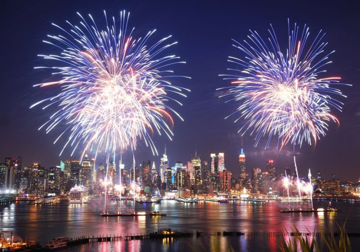 4TH JULY Independence Day usa america united states holiday flag new york fireworks wallpaper