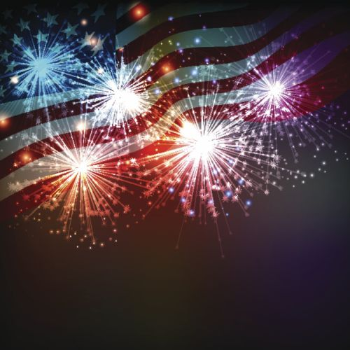 4TH JULY Independence Day usa america united states holiday flag poster fireworks wallpaper