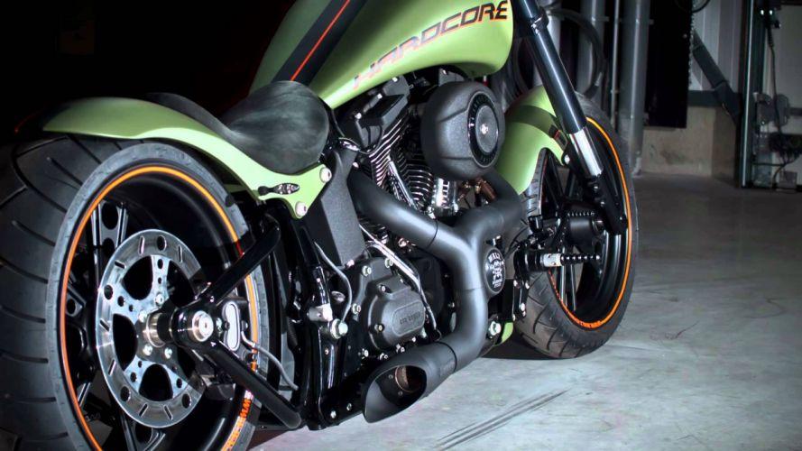 WALZ HARDCORE CYCLES custom chopper motorbike motorcycle 1walz bike hot rod rods race racing wallpaper
