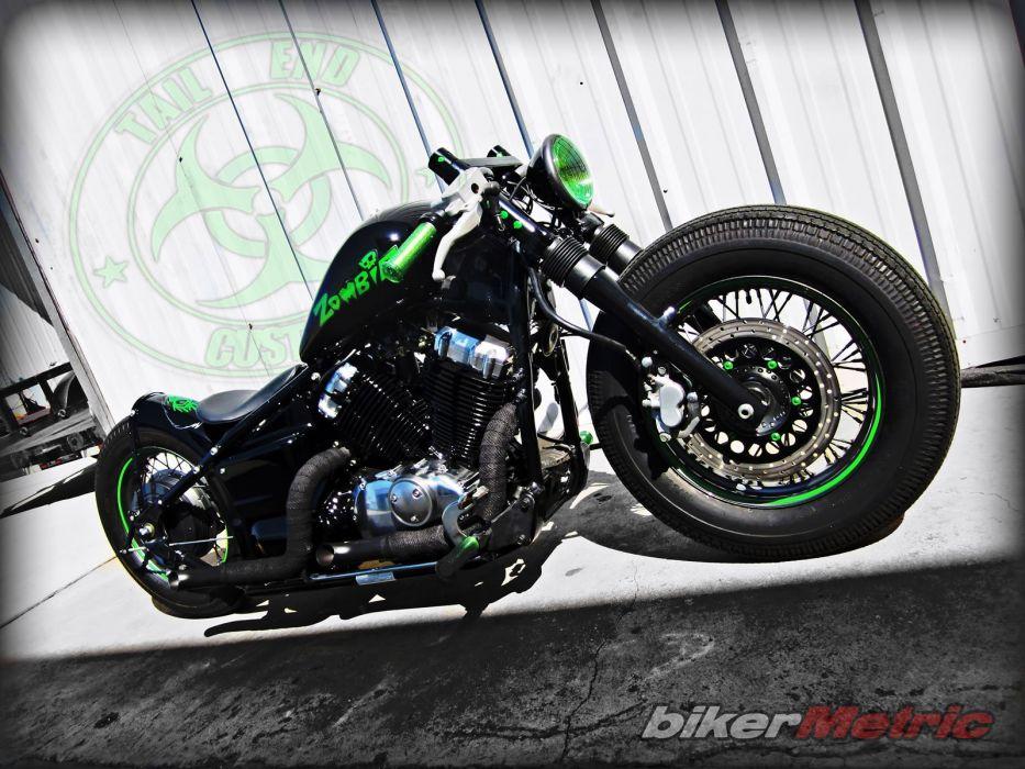 BOBBER motorcycle custom motorbike bike chopper hot rod rods tuning f wallpaper
