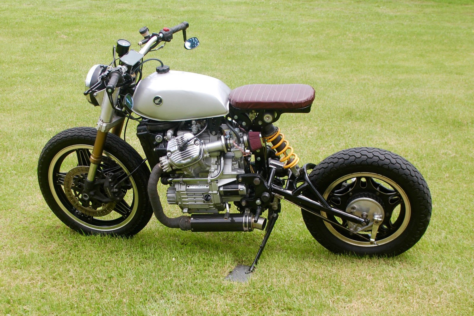 Mono Bobber Cafe Racer Streefighter Motorcycle Custom Motorbike Bike