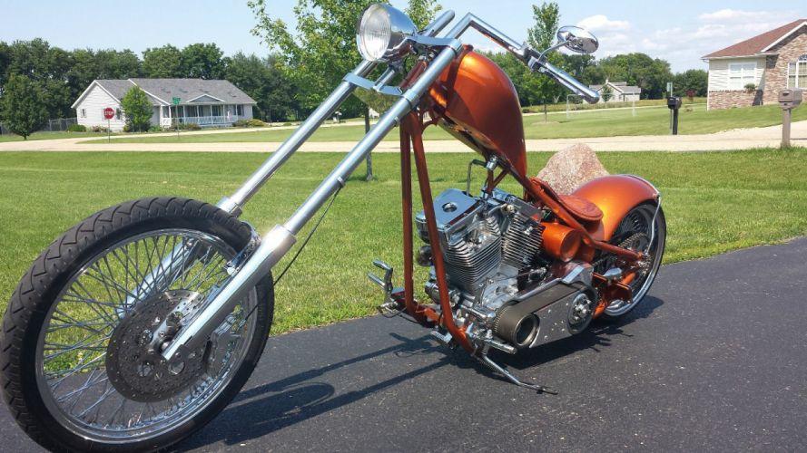 2011 custom chopper motorcycle motorbike bike f wallpaper