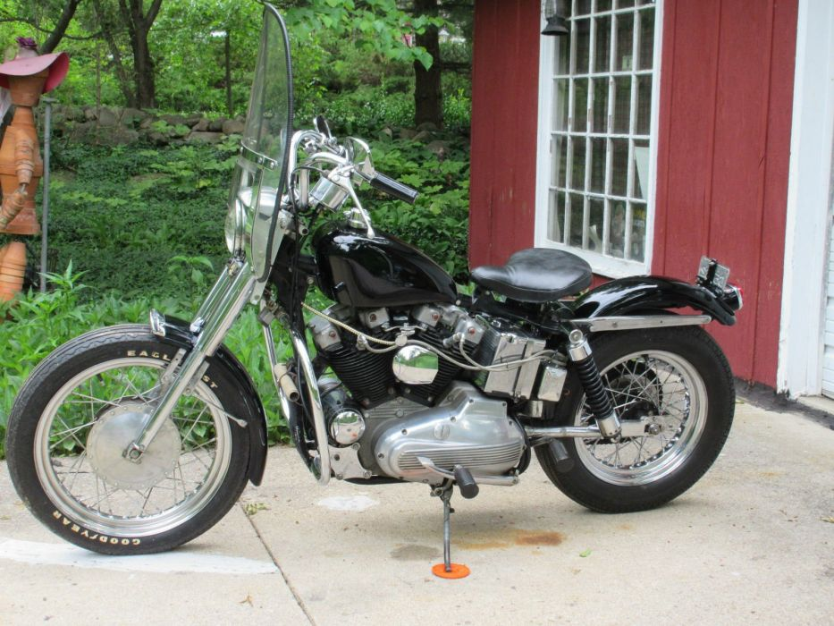 1970 Harley Davidson Sportster classic motorcycle motorbike bike f wallpaper