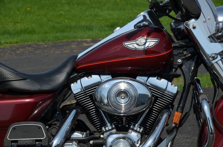 2003 Harley Davidson Road King Classic FLHRC classic motorcycle motorbike bike f wallpaper