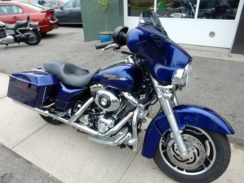 2006 Harley Davidson Street Glide Flhxi Classic Motorcycle