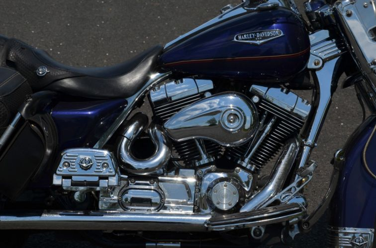 2000 Harley Davidson Road King Classic FLHRC classic motorcycle motorbike bike f wallpaper