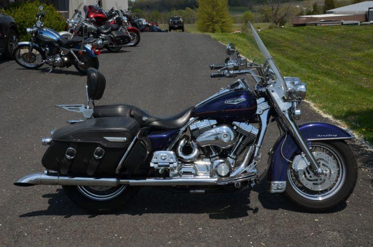 2000 Harley Davidson Road King Classic FLHRC classic motorcycle motorbike bike f wallpaper