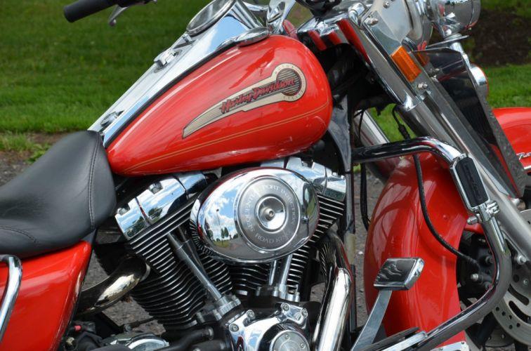 2004 Harley Davidson Road King Standard FLHRI classic motorcycle motorbike bike f wallpaper