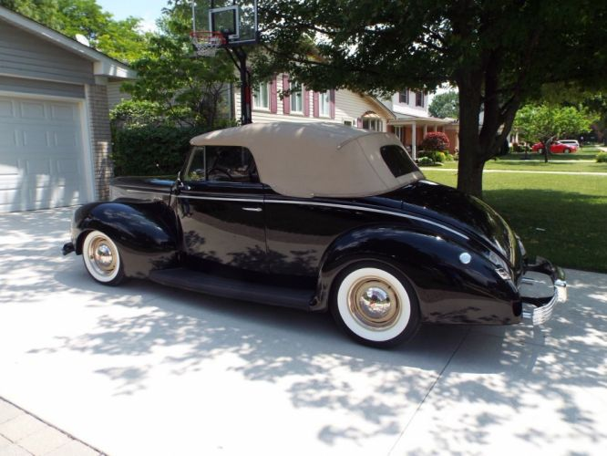 1940 Ford convertible custom hot rod rods g wallpaper