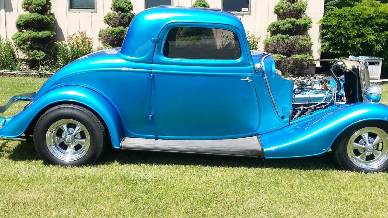 1934 FORD COUPE custom hot rod rods g wallpaper