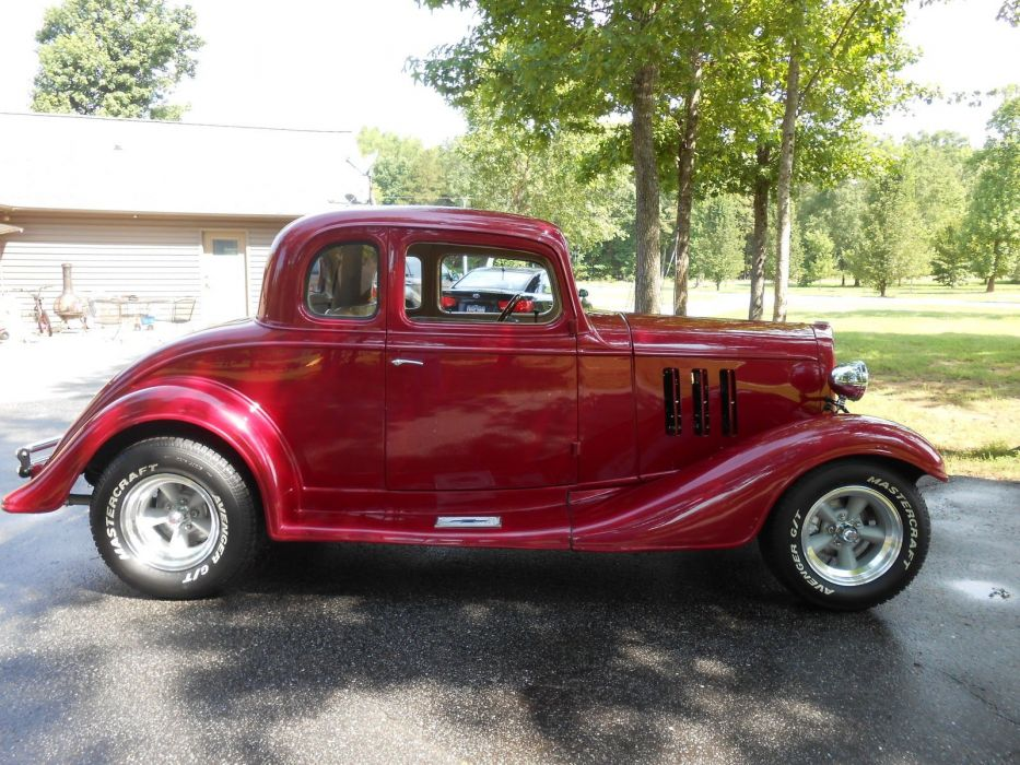 1933 CHEVY COUPE custom hot rod rods g wallpaper