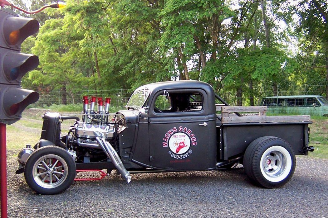 1935 Ford Pickup custom hot rod rods g wallpaper