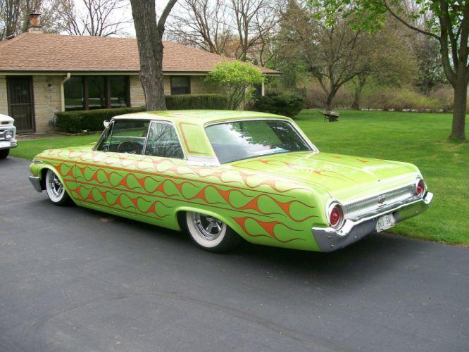 1962 Ford Galaxy 500 XL lowrider custom hot rod rods f wallpaper