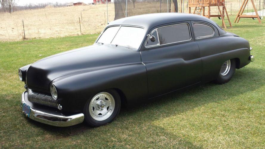 1950 Mercury custom hot rod rods f wallpaper