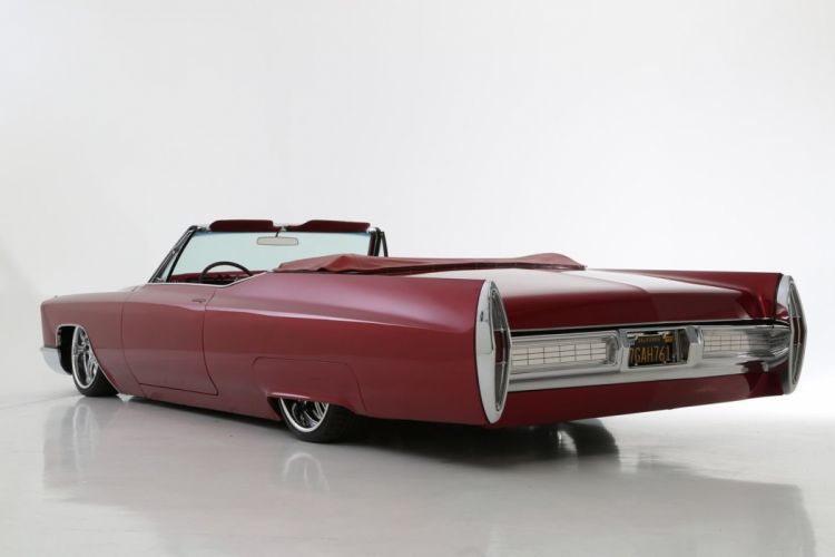 1967 Cadillac DeVille lowrider luxury custom hot rod rods f wallpaper