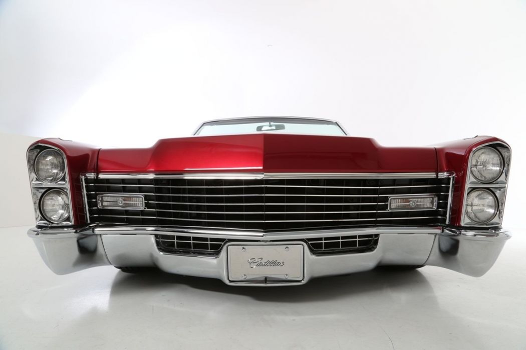 1967 Cadillac DeVille lowrider luxury custom hot rod rods ...