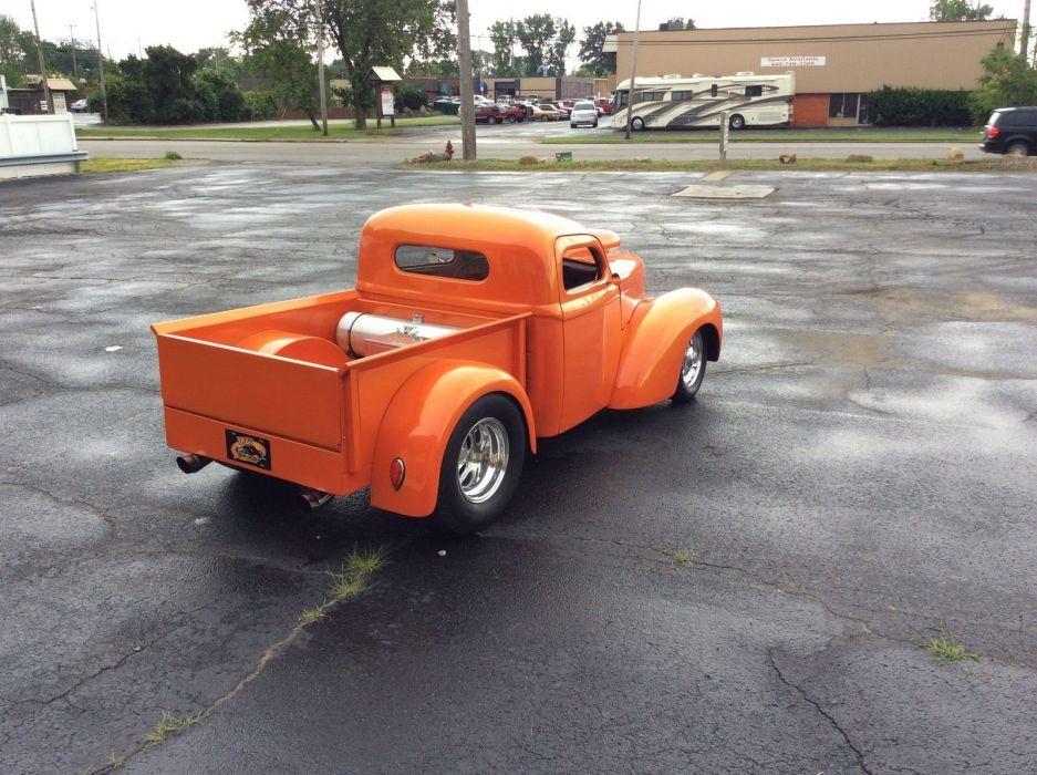 1940 Willys pro street Pickup custom hot rod rods f wallpaper