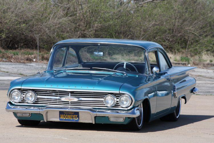 1960 Chevrolet Impala lowrider custom hot rod rods f wallpaper