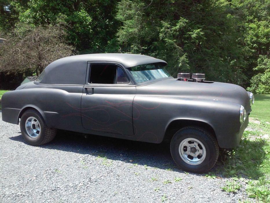 1952 Oldsmobile Delta 88 gasser custom hot rod rods f wallpaper