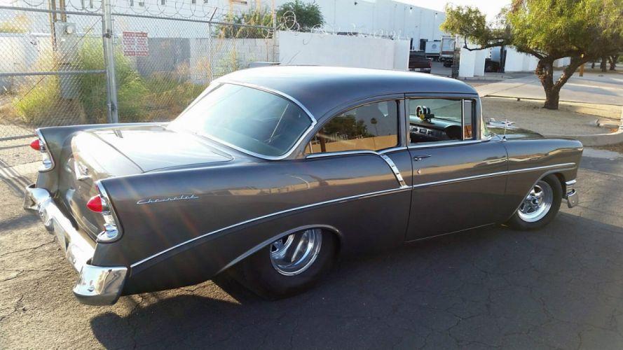 Chevrolet Bel Air custom hot rod rods f wallpaper