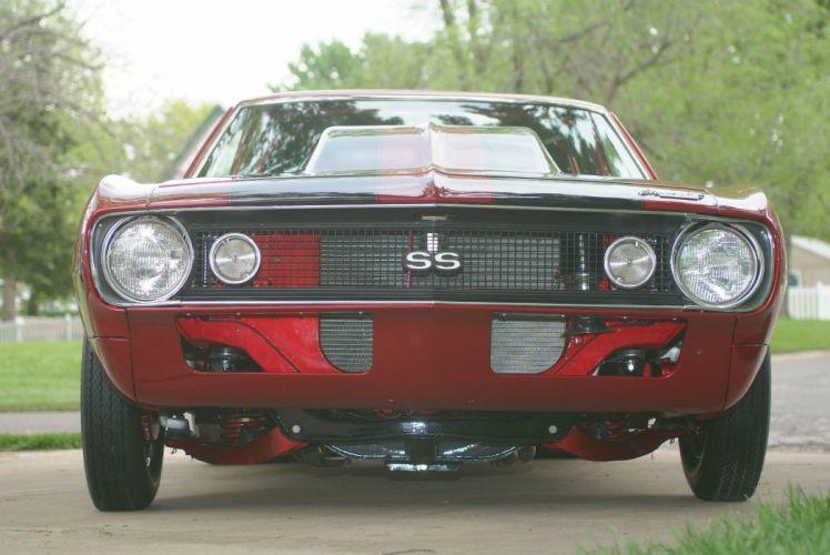 1967 Chevrolet Camaro custom hot rod rods f wallpaper