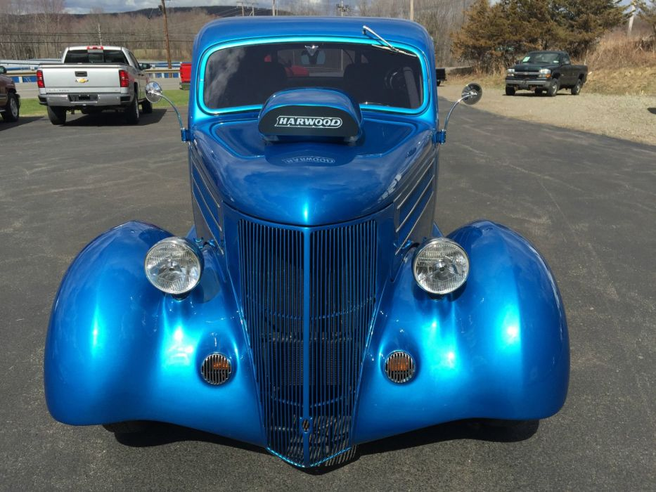 1936 Ford Coupe custom hot rod rods f wallpaper